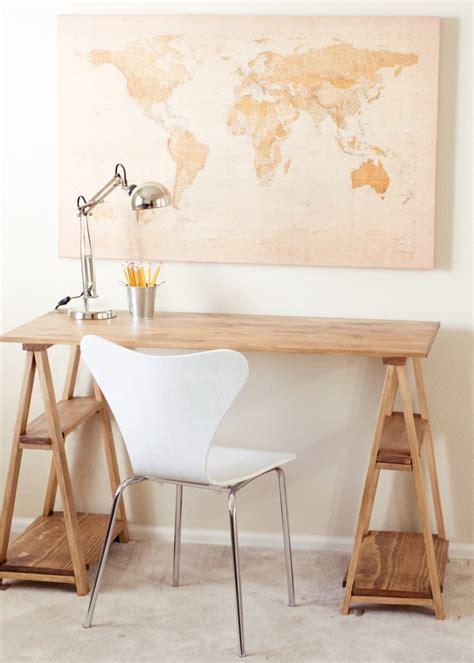 faire un bureau en bois fabriquer un bureau soi même 22 idées inspirantes