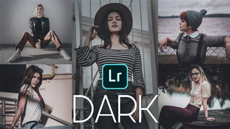 3 dark blue & silver color preset định dạng (xmp, dng,lr). Efecto DARK para LIGHTROOM MOBILE // Preset gratuito ...