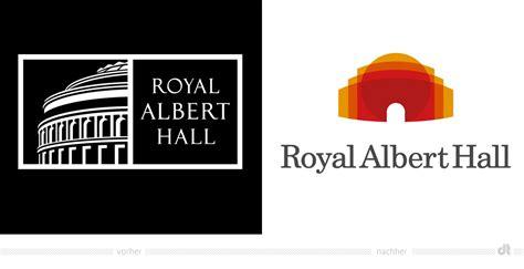 royal albert hall logo vorher und nachher design tagebuch