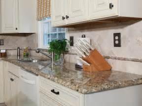 DIY Granite Tile Kitchen Countertop