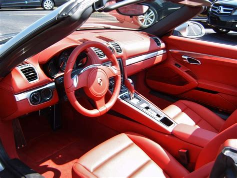 Look, A Red Interior In A New Car