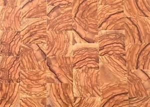 parquet olivier en bois de bout brut With parquet olivier