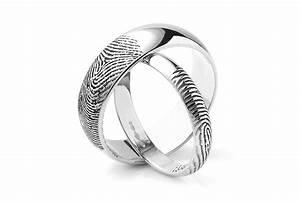 Fingerprint Wedding Rings Unique Wedding Rings In 5 Easy