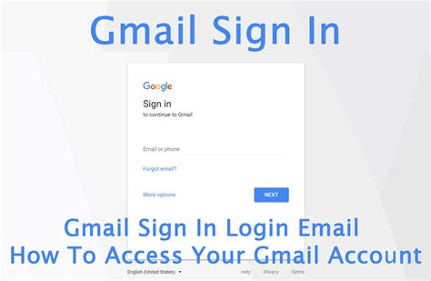 Gmail Sign In Login Email