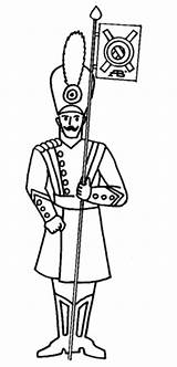 Tin Soldier Coloring Pages Printable Drawing Supercoloring Dot sketch template