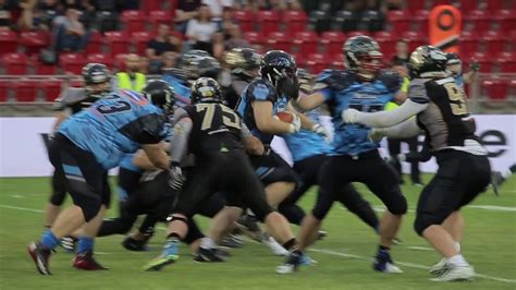 thepack panthers wroclaw seahawks gdynia highlights