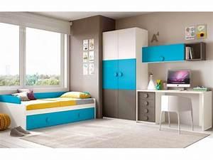 chambre complete pour ado collection a prix fun so nuit With idee deco cuisine avec lits jumeaux