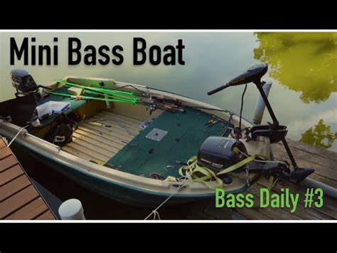 Mini Bass Boats by Mini Bass Boat Tackle New Lures Bass Daily 3