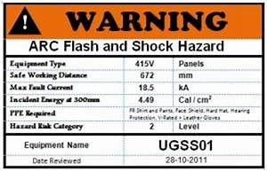 arc blast and flash injuries are your electrical With arc flash warning stickers