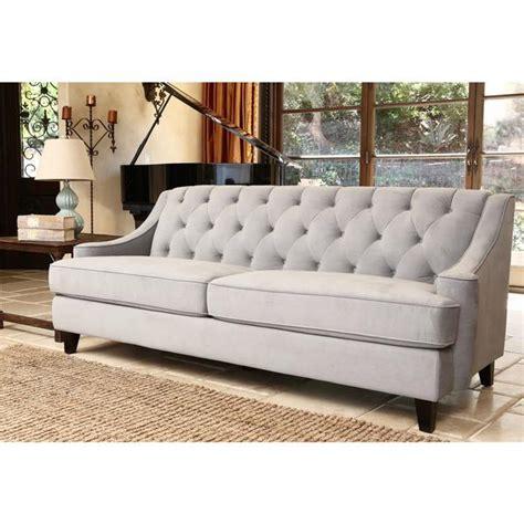 blue tufted sectional sofa abbyson living claridge steel blue velvet fabric tufted sofa
