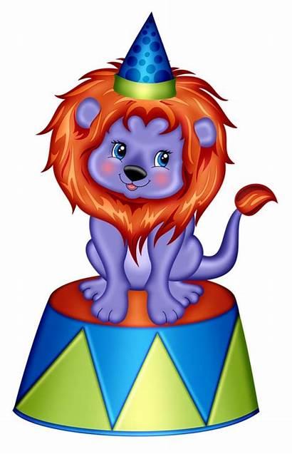 Lion Circus Clip Clipart Carnival Clipartmag Fun