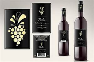 35 wine label templates free premium templates With custom wine label stickers
