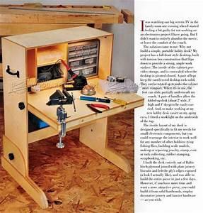 Hobby Desk Plans • WoodArchivist