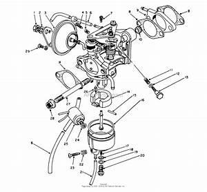 Toro 62040  Generator  T4000d  1984  Sn 4000001
