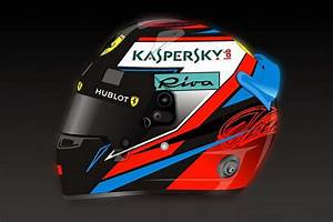 Raikkonen Reveals 2018 Helmet Design GRAND PRIX 247