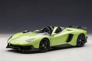 Green Lamborghini Aventador J AUTOart 74677 Scale 1:18 ...