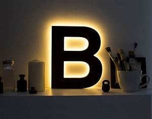 letter light led light up letters led sign night lamp With lighted wooden letters