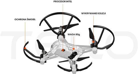 ryze tello bialy powered  dji  intel dron ceny  opinie  media expert