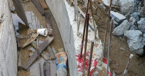 Worker Tripped And Fell Onto Rebar