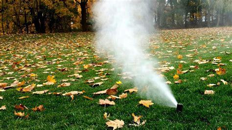Sprinkler Winterization Southeast Michigan
