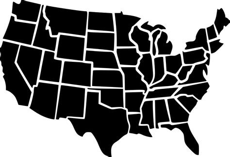 Do you want to delete all your favorite icons? Usa Map Svg Png Icon Free Download (#466947 ...