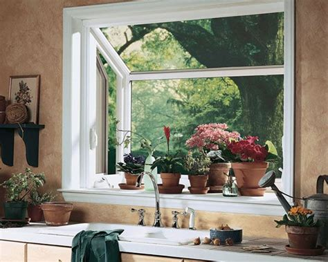 Growing Herbs In Kitchen Window by Grown Herbs On Back Smaller Bay Window A Window That