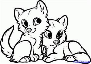 Cute Baby Animals Coloring Pages - Coloring Home