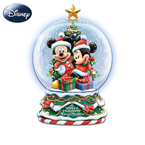 collectible disney snow globes water globes