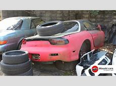 Mazda RX7 & JC Eunos Cosmo Junk Yard in Japan YouTube