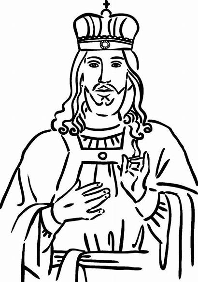 King Coloring Pages Christ Samuel Play Pdf