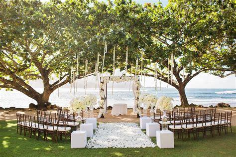 Stunning St Regis Princeville Resort Kauai Wedding
