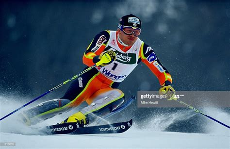 Jure Kosir of Slovenia in action during the World Cup ...