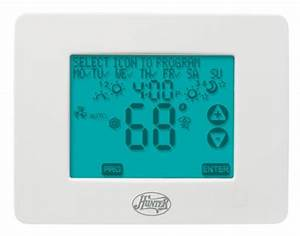 Hunter 44860 7 Day Programmable Touchscreen Thermostat