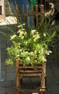 Chair Container Garden