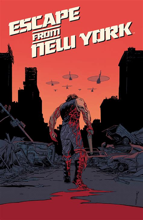 Escape from New York Comic Takes Snake Plissken Nationwide ...