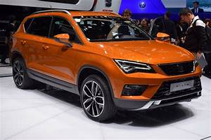 Seat Ateca Compact Suv Celebrates Global Premiere In Geneva