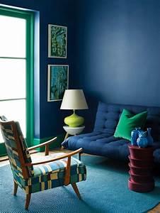 10 fotos de salas azules With delightful quelle couleur avec du bleu 11 quelle couleur pour un salon 80 idees en photos