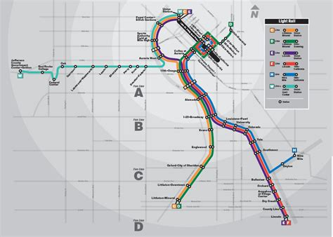 light rail map denver west rail line construction summary denverurbanism
