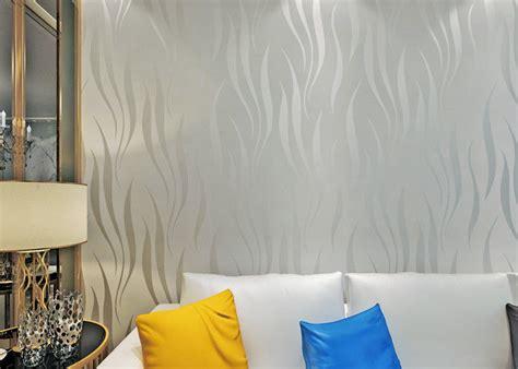 nonwoven foam modern  adhesive wallpaper  peel