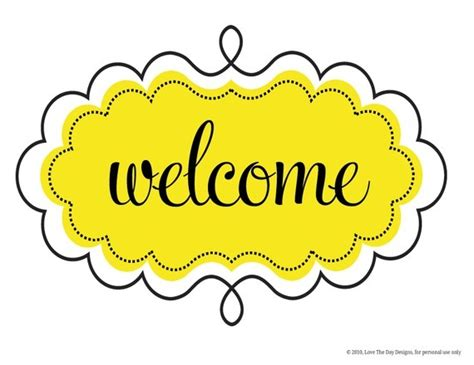 welcome sign template free printable welcome sign template printable 360 degree