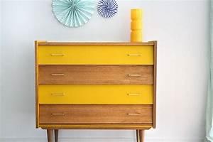 Commode Scandinave Ikea : commode vintage capucine r nov e et relook e par les jolis meubles coiffeuses commodes ~ Teatrodelosmanantiales.com Idées de Décoration