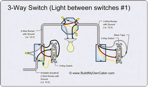 1 3 Way Light Switch Wiring Diagram 3 way switch wiring diagram