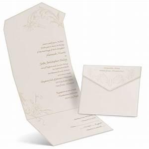 pearl flourish seal and send invitation ann39s bridal With wedding invitations date to send