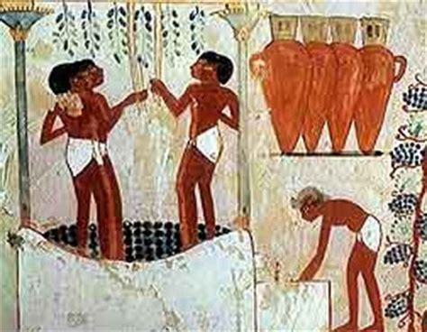 le vin en egypte antique