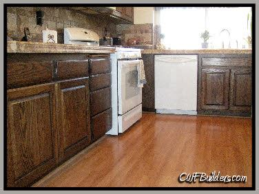 how to stain oak kitchen cabinets refinishing oak cabinets darker savae org 8911