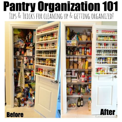 Pantry Organization 101