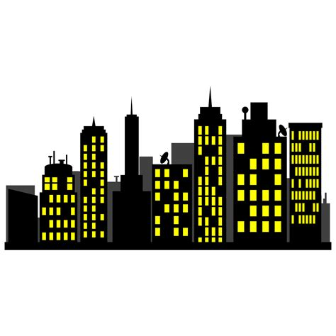 City Clip City Clipart Pencil And In Color City Clipart