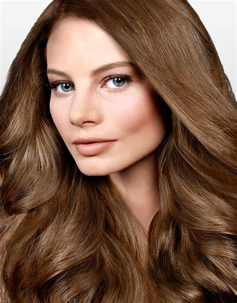 natural light brown hair hair color and hair care products enriched with natural