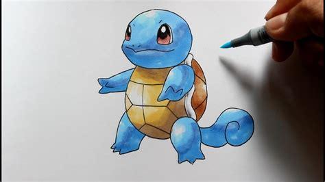 wie zeichnet man schiggy pokemon zeichen tutorial youtube