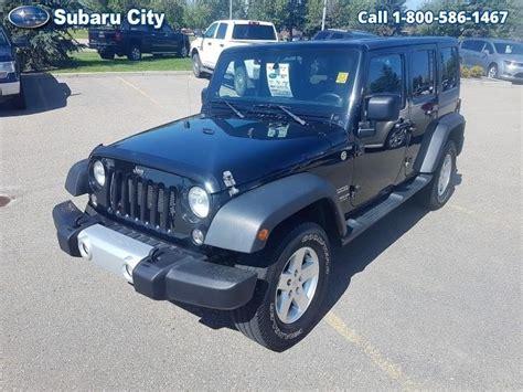 subaru city  jeep wrangler unlimited sportunlimitedxairtiltcruisepwplsoft top